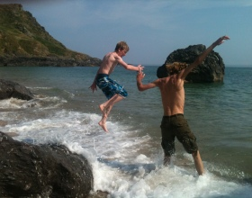 Jump - South Devon Coast